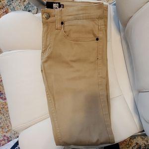 RSQ London Skinny Khaki Jean's 28x32
